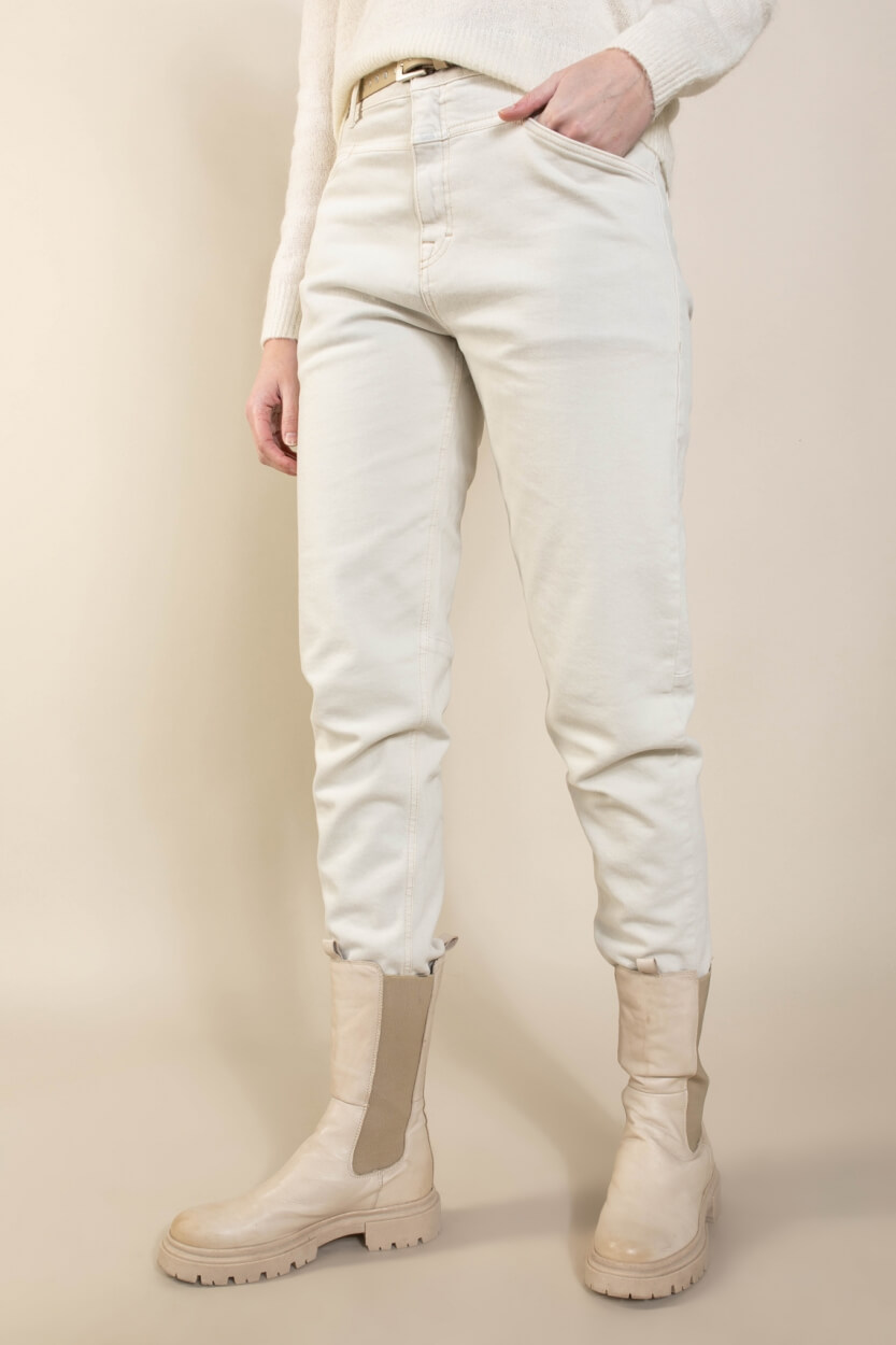 Closed Dames Boyfriend jeans Wit