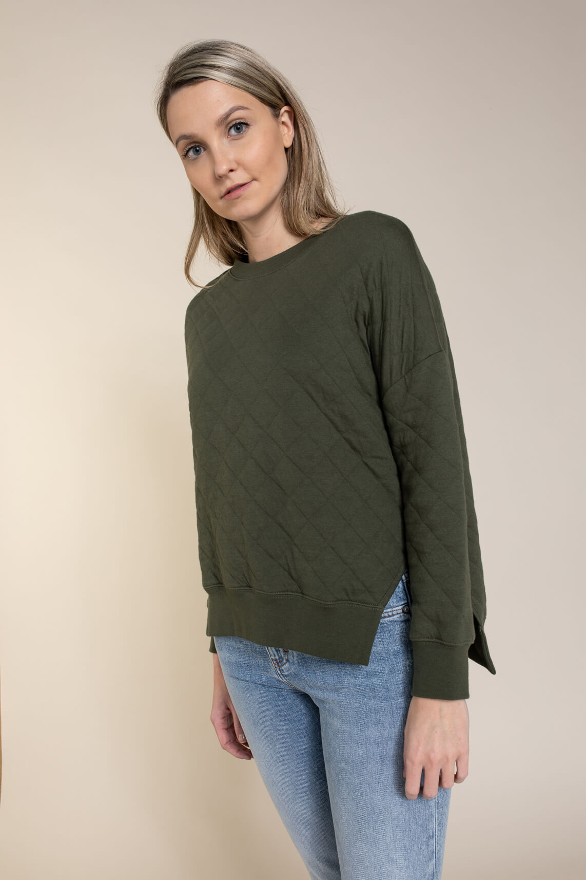Closed Dames Sweater groen