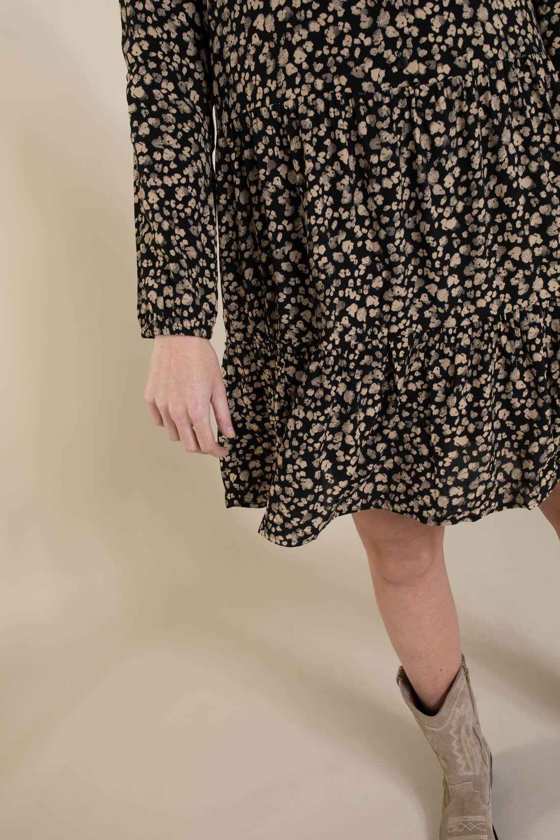 Moss Copenhagen Dames Meilla jurk zwart
