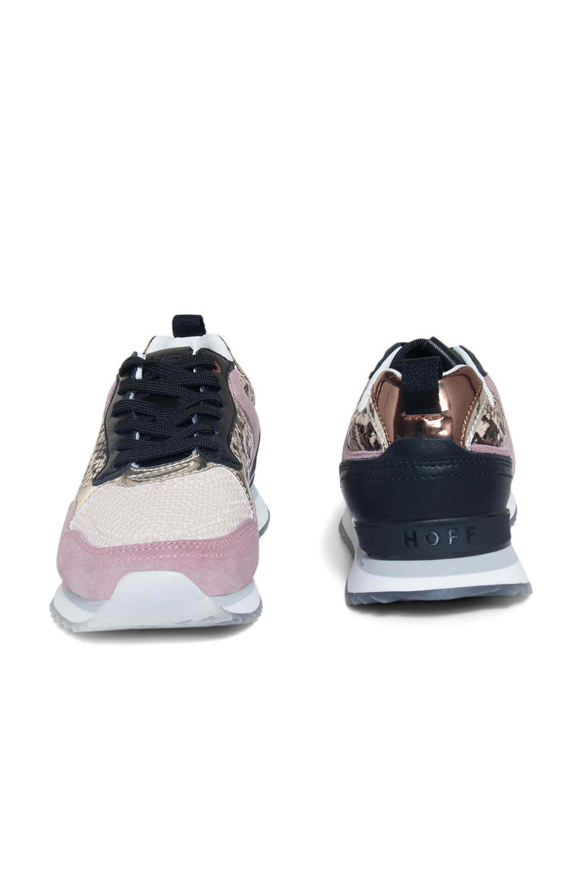 Hoff Dames Slangenprint sneaker roze