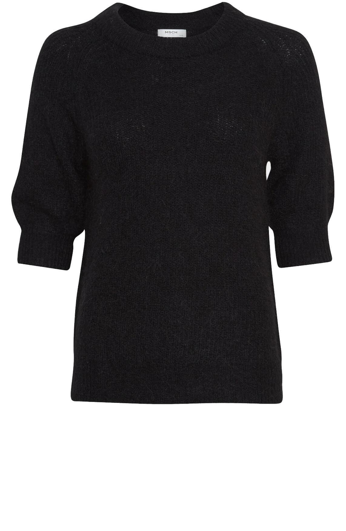 Moss Copenhagen Dames Sabella pullover zwart