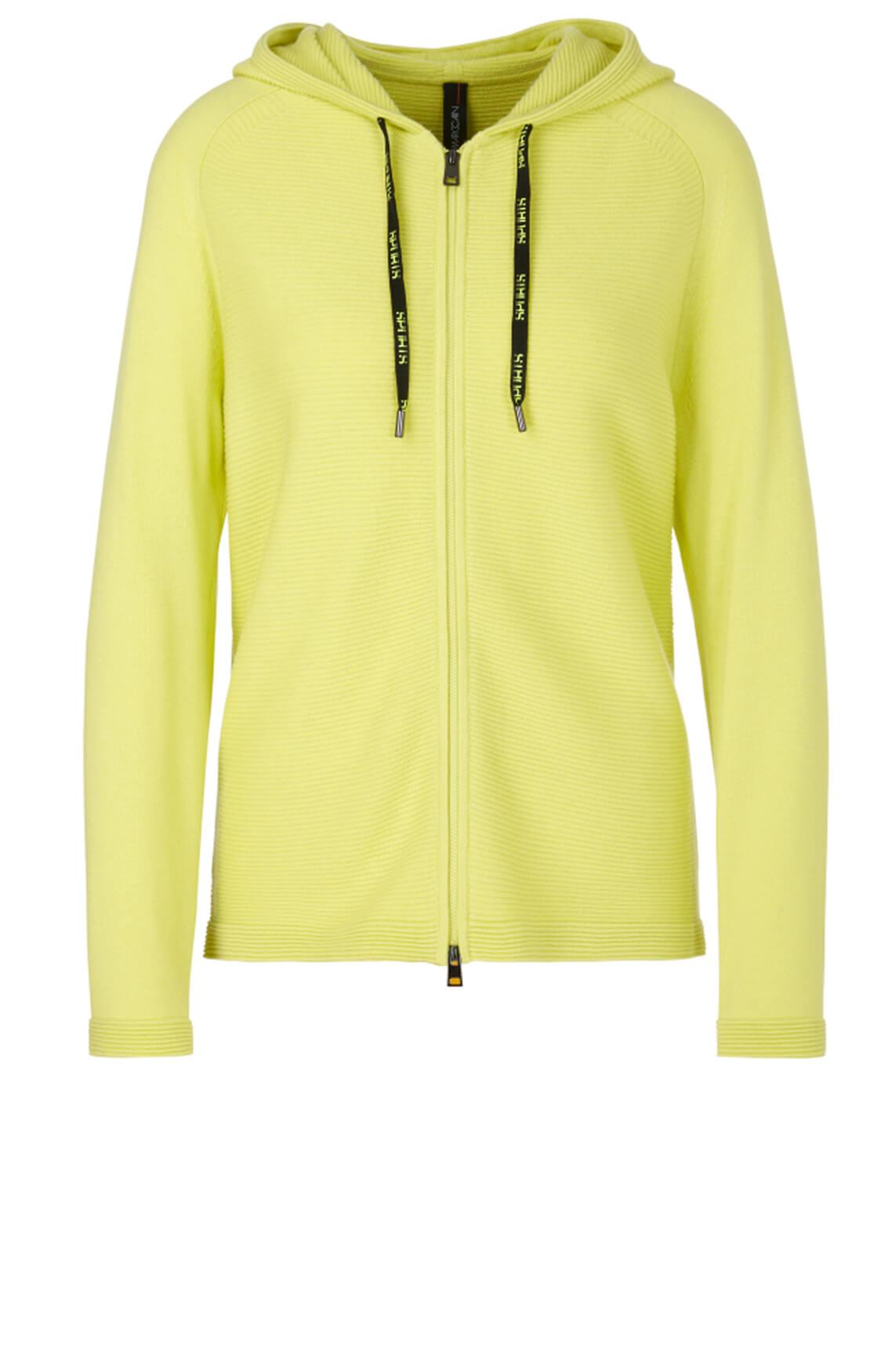 Marccain Sports Dames Vest met cashmere geel