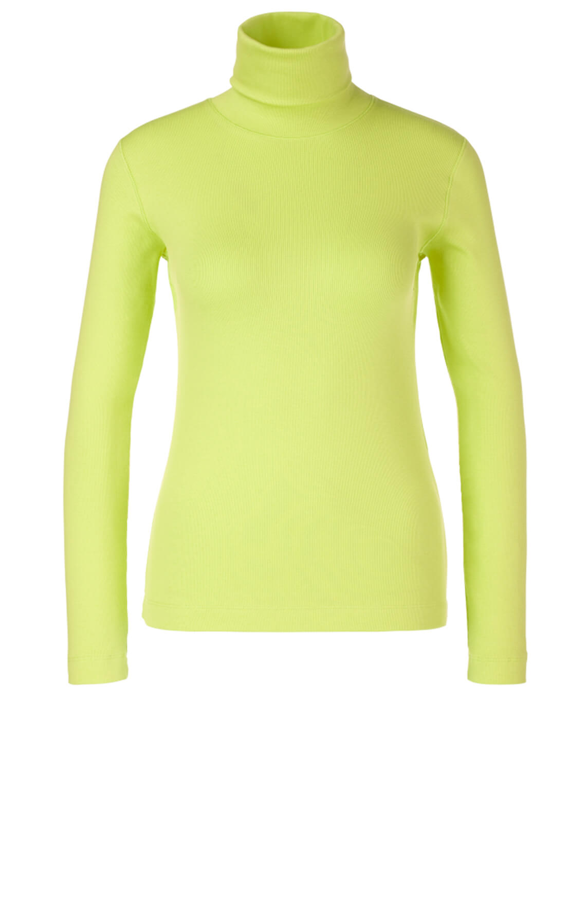Marccain Sports Dames Shirt met rolkraag geel