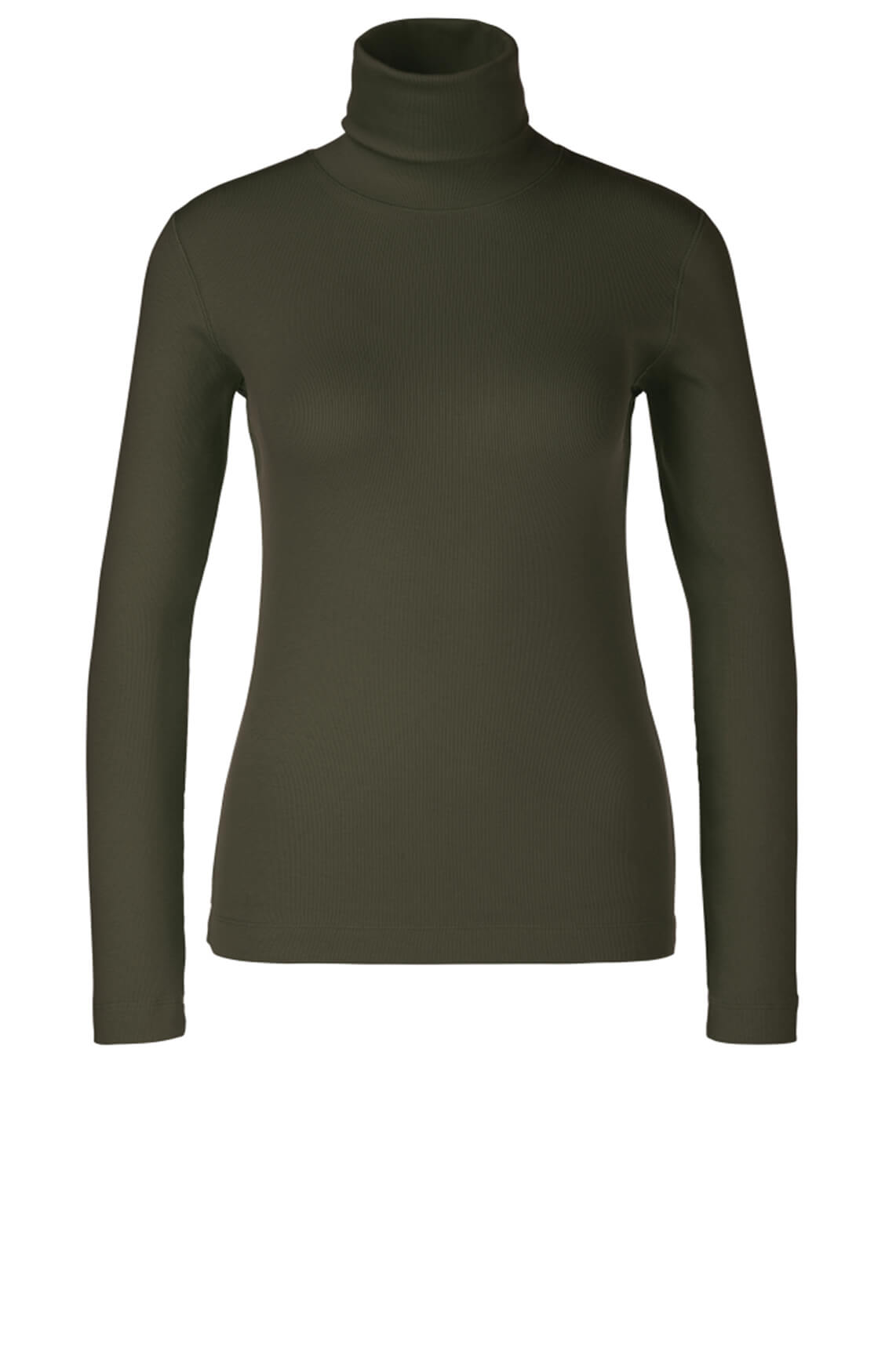 Marccain Sports Dames Shirt met rolkraag groen