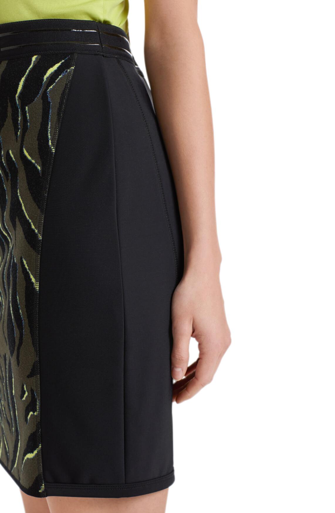 Marccain Sports Dames Jacquard rok zwart