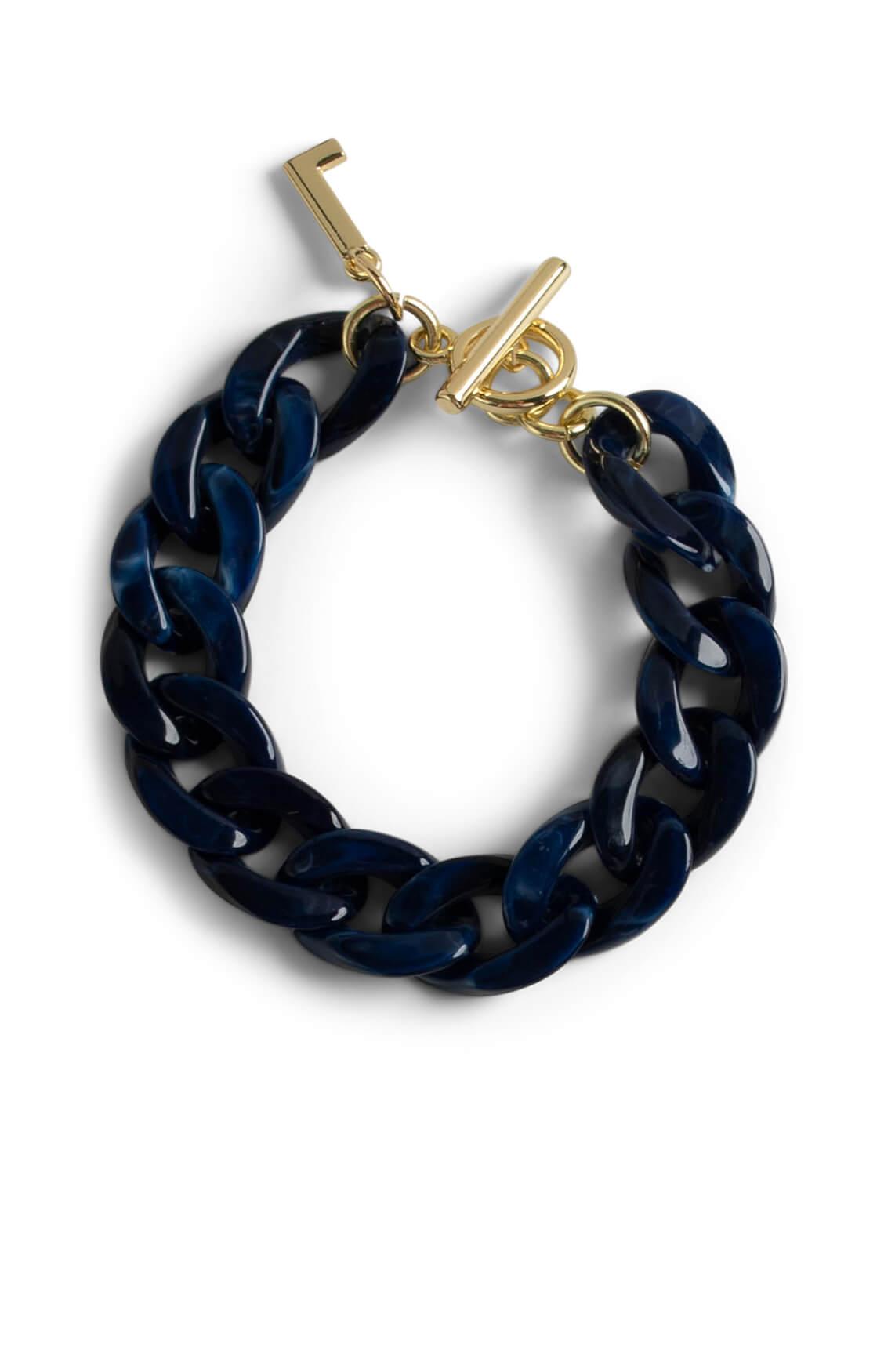 Lins. Amsterdam Dames Sky armband Blauw