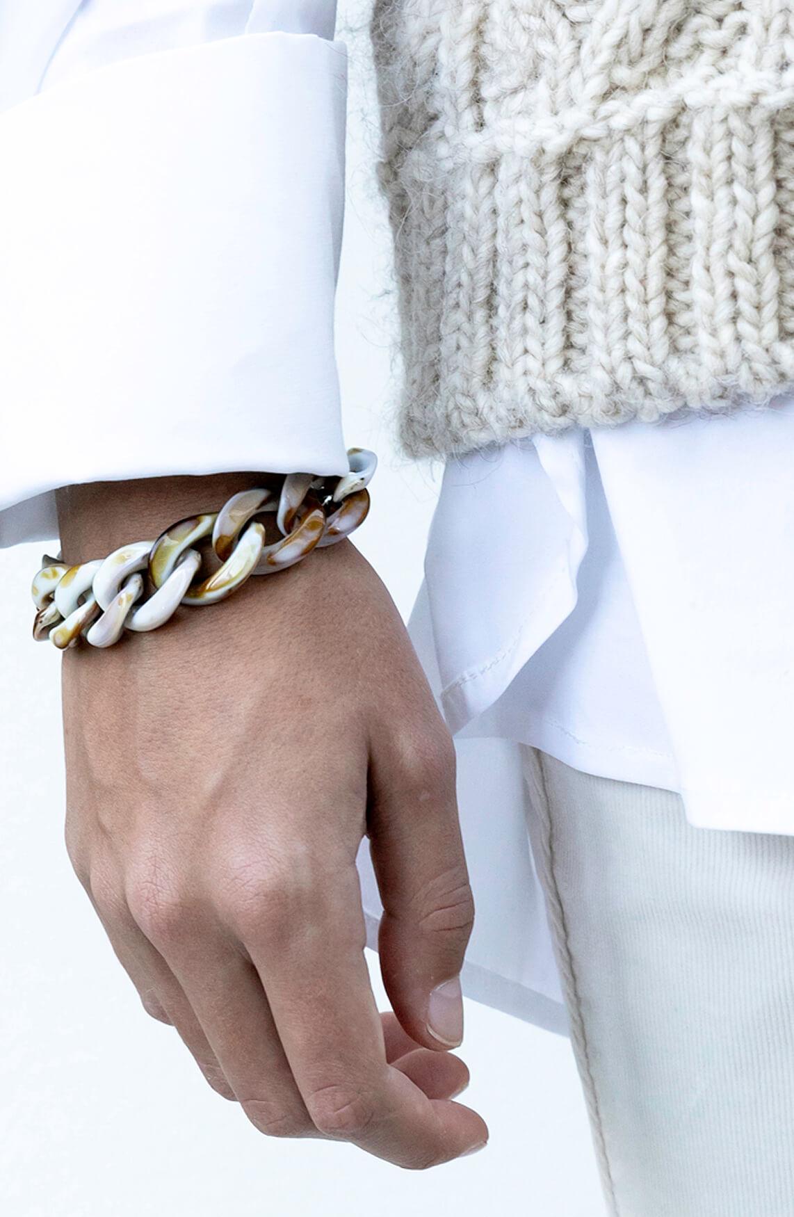 Lins Dames Desert armband Bruin