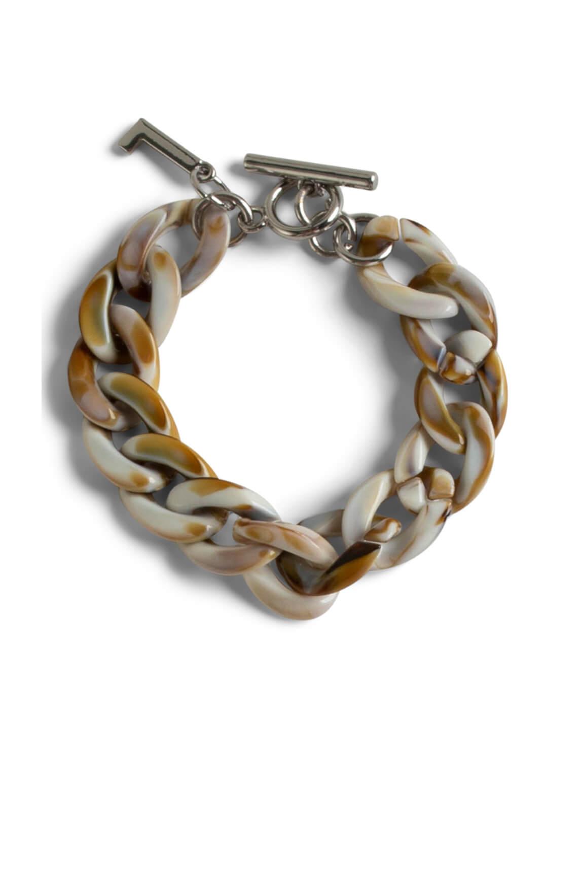 Lins. Amsterdam Dames Desert armband Bruin