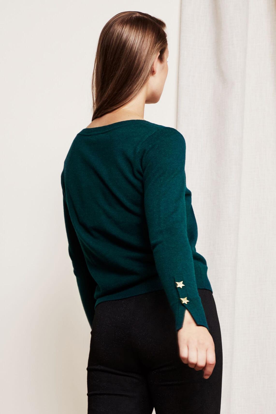 Fabienne Chapot Dames Molly pullover groen