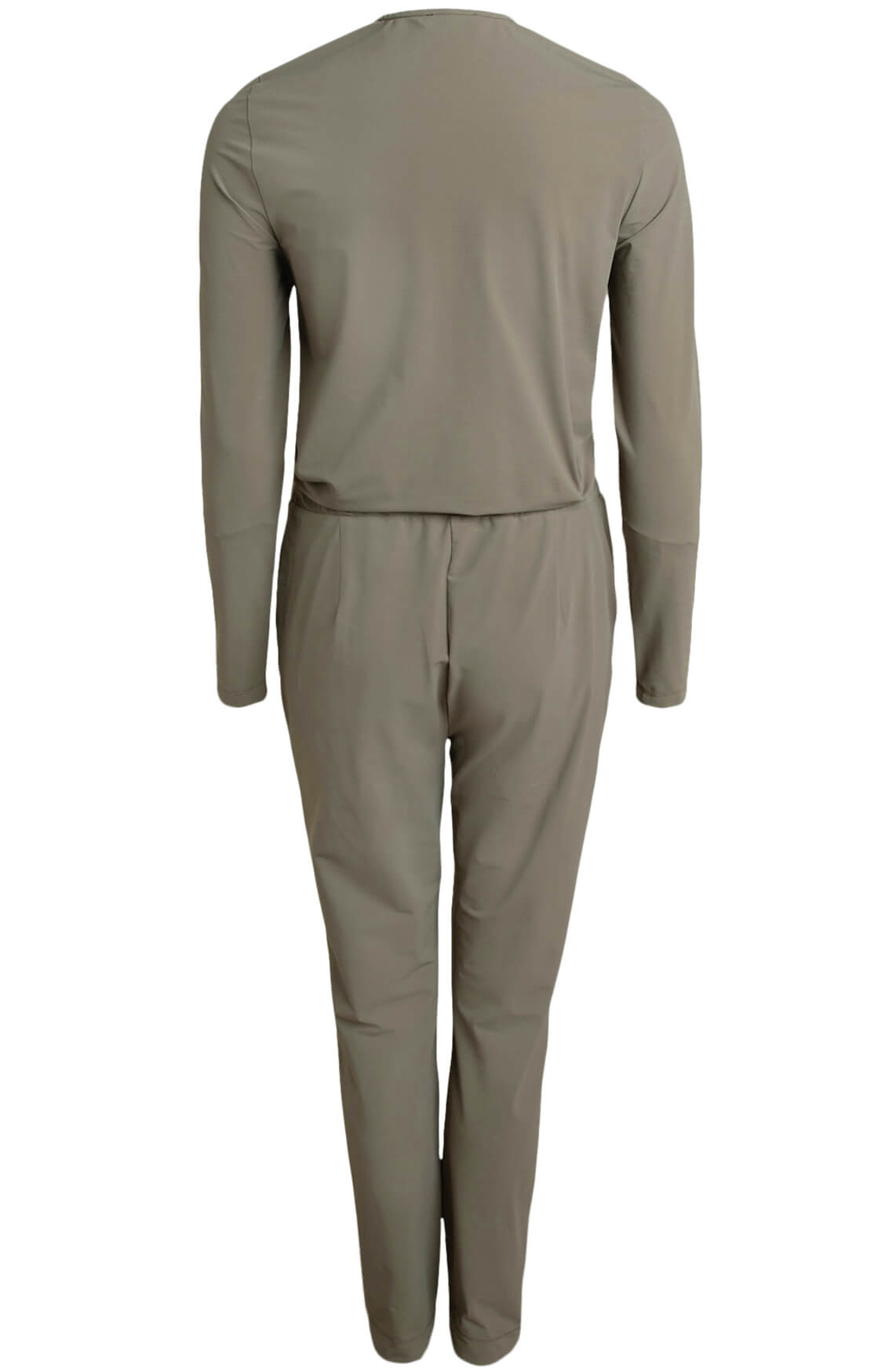 Anna Dames Jersey sensitive jumpsuit groen