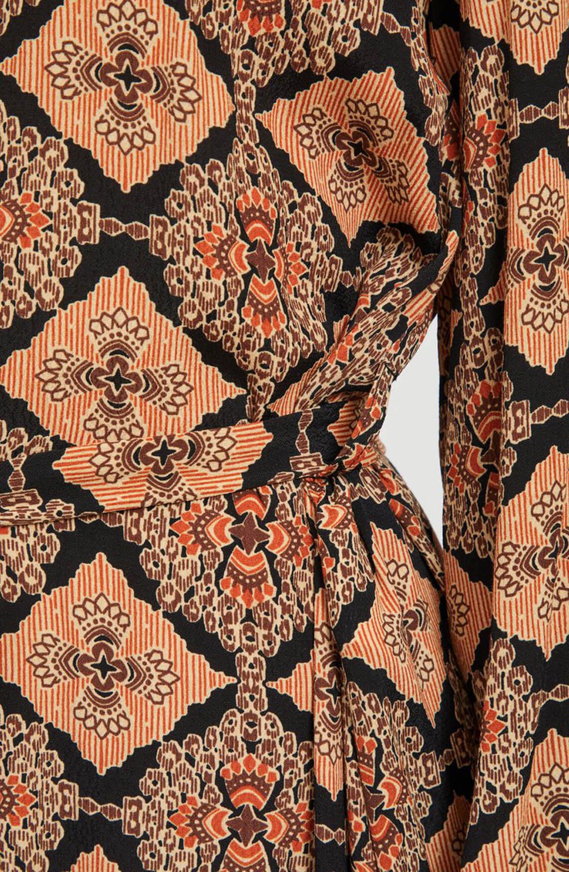 Object Dames Lisa jurk Bruin