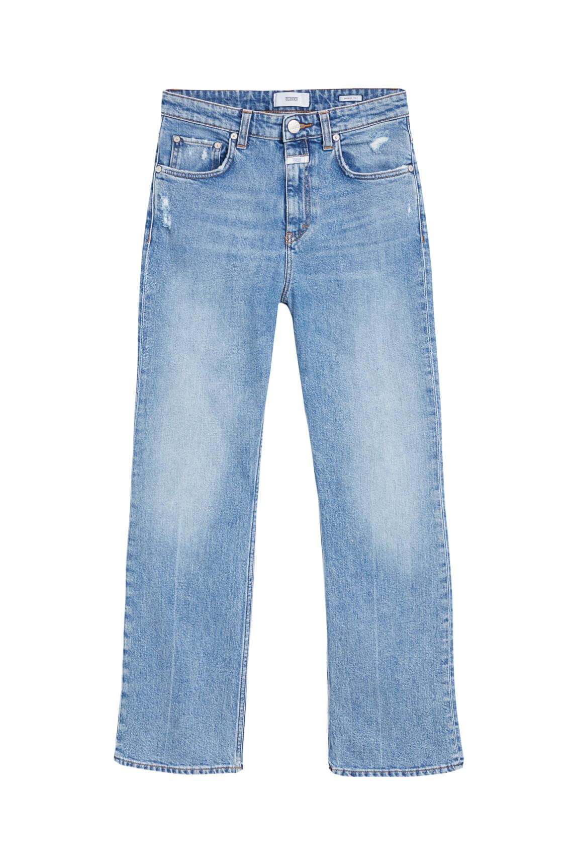 Closed Dames Jeans high waist Blauw