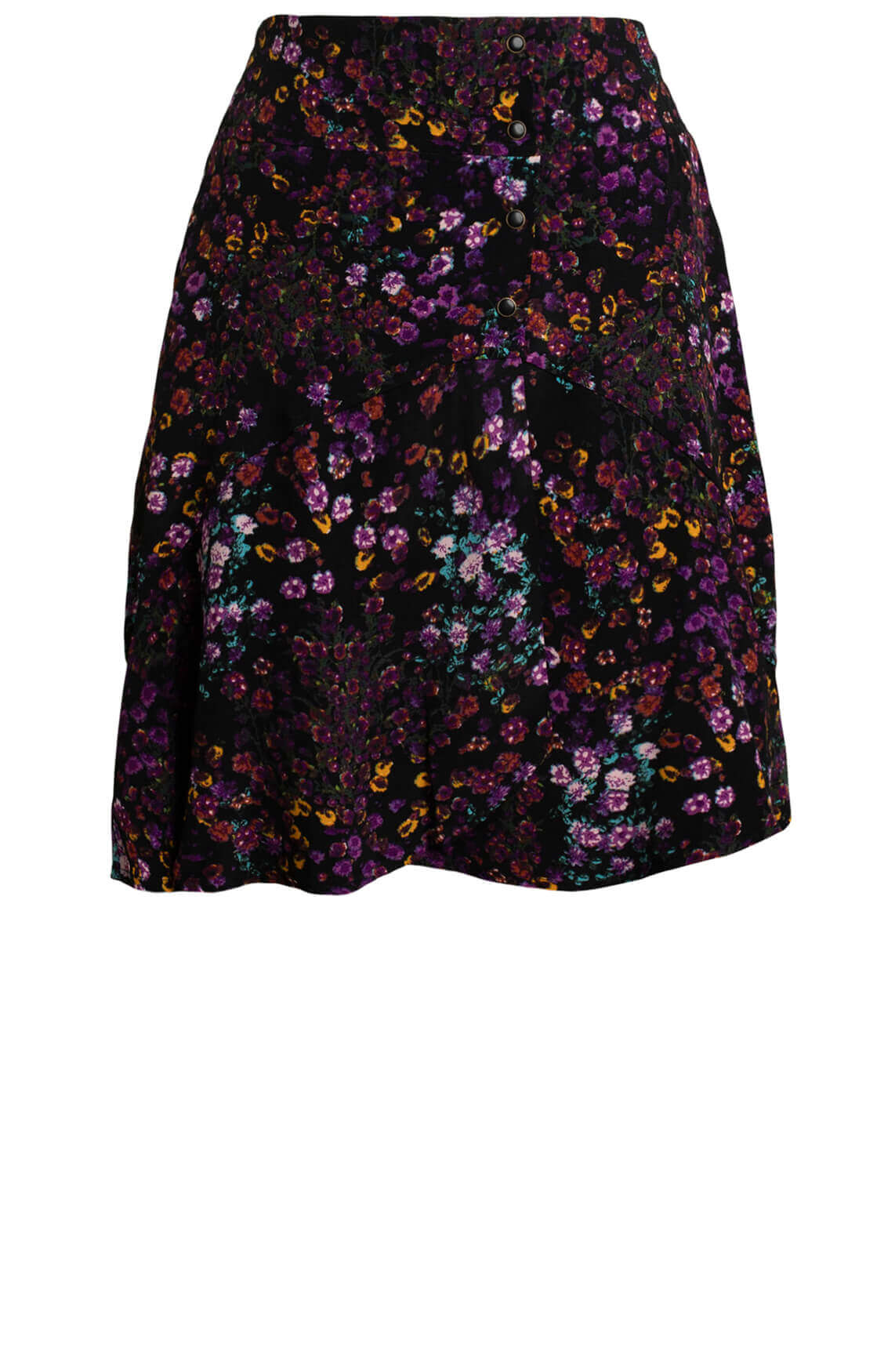 Alix The Label Dames Ditsy flower rok Paars