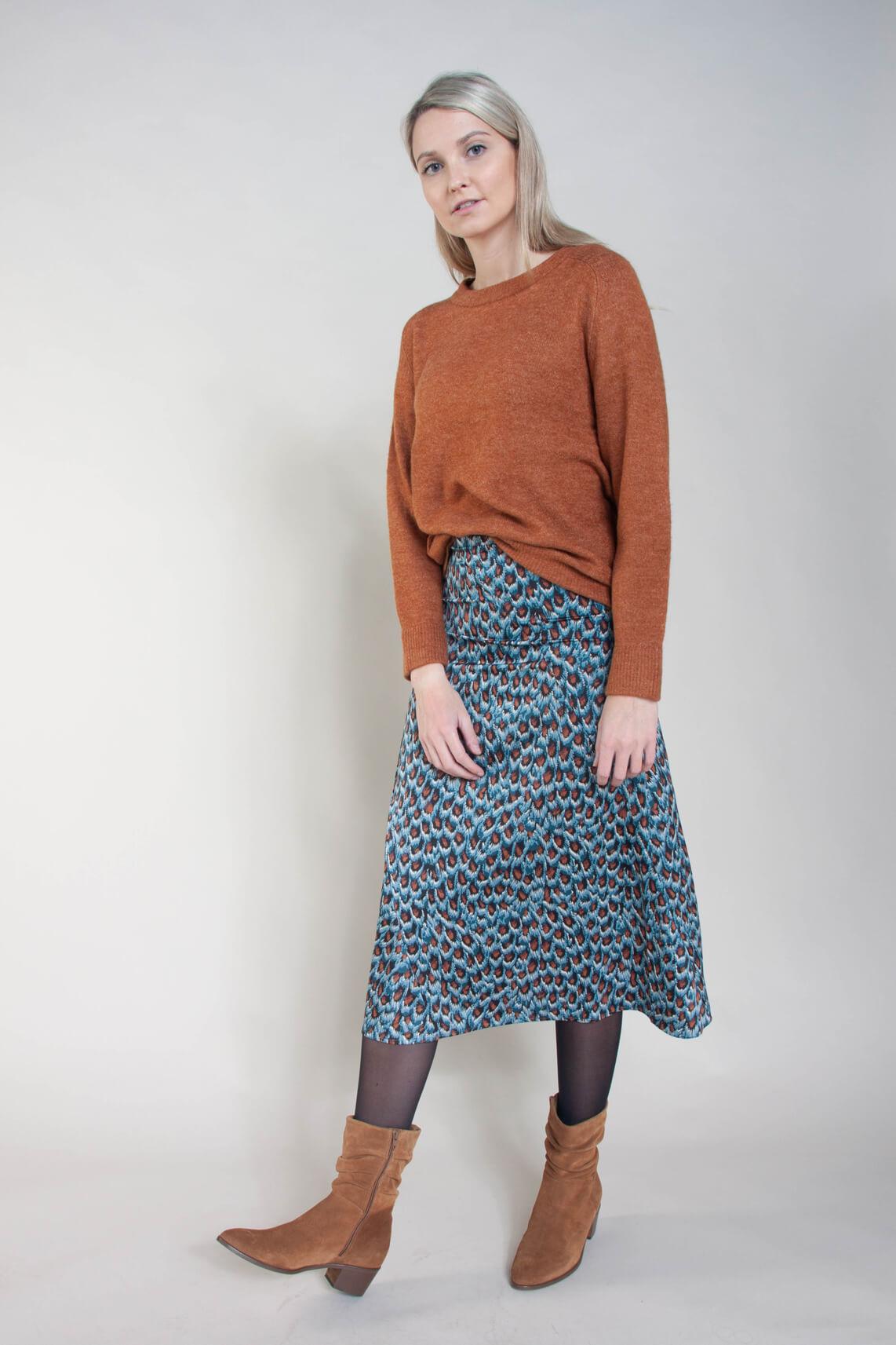 Co Couture Dames Soul trui Bruin