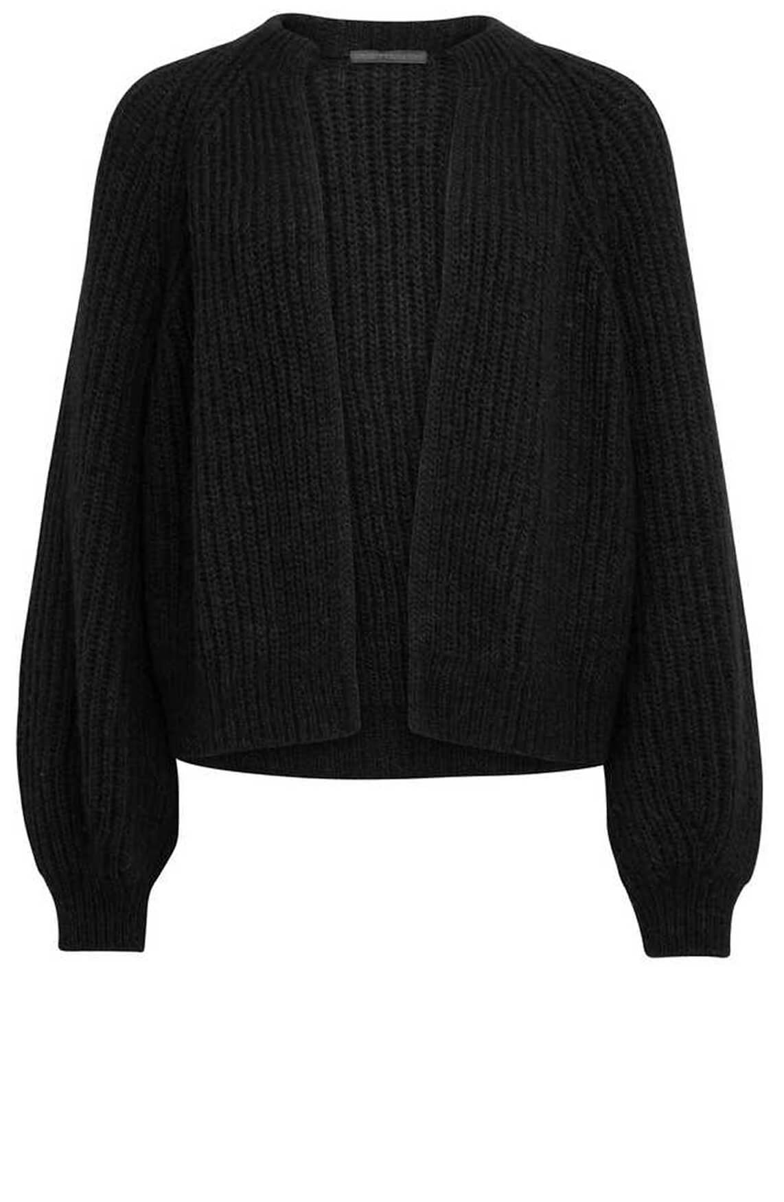 Drykorn Dames Batou vest zwart