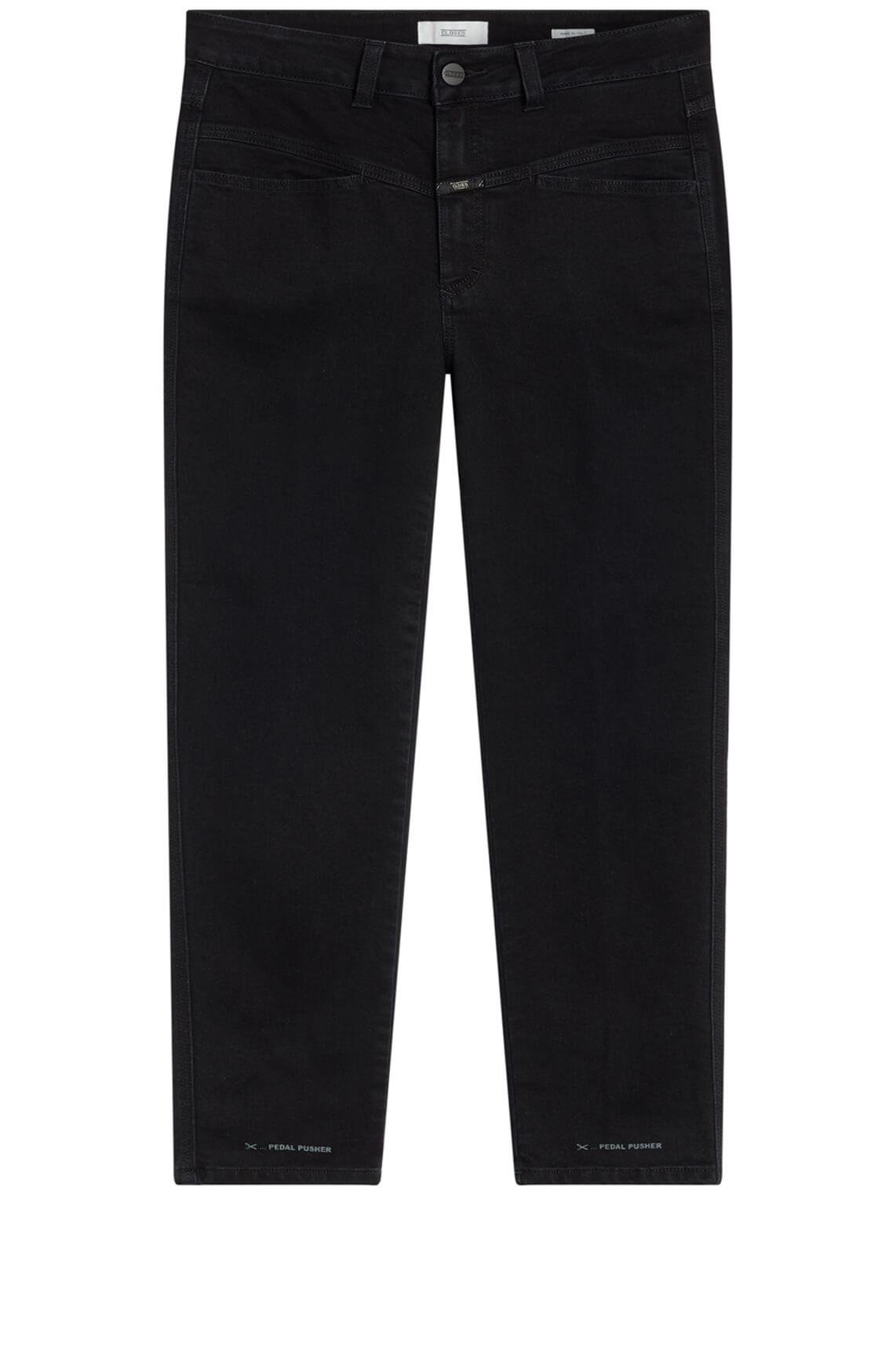 Closed Dames High waist jeans 7/8 zwart