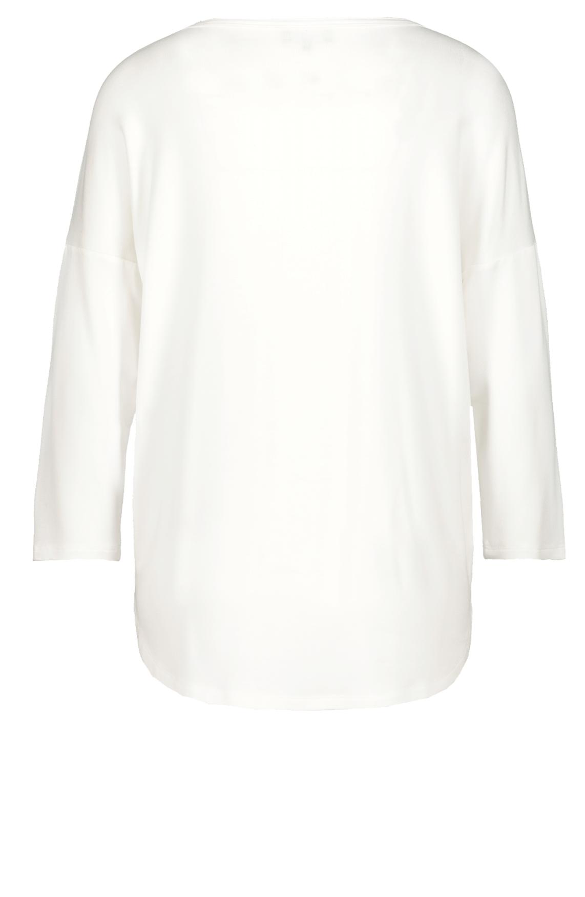 Monari Dames Shirt met print wit