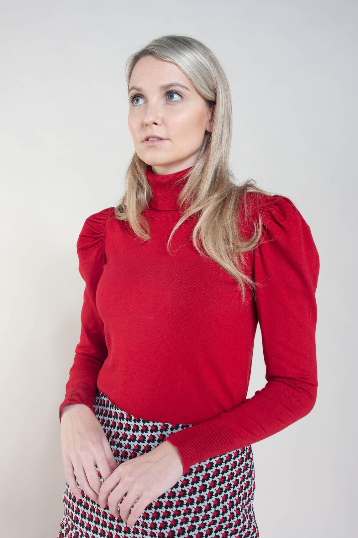 Kocca Dames Dawn pullover Rood