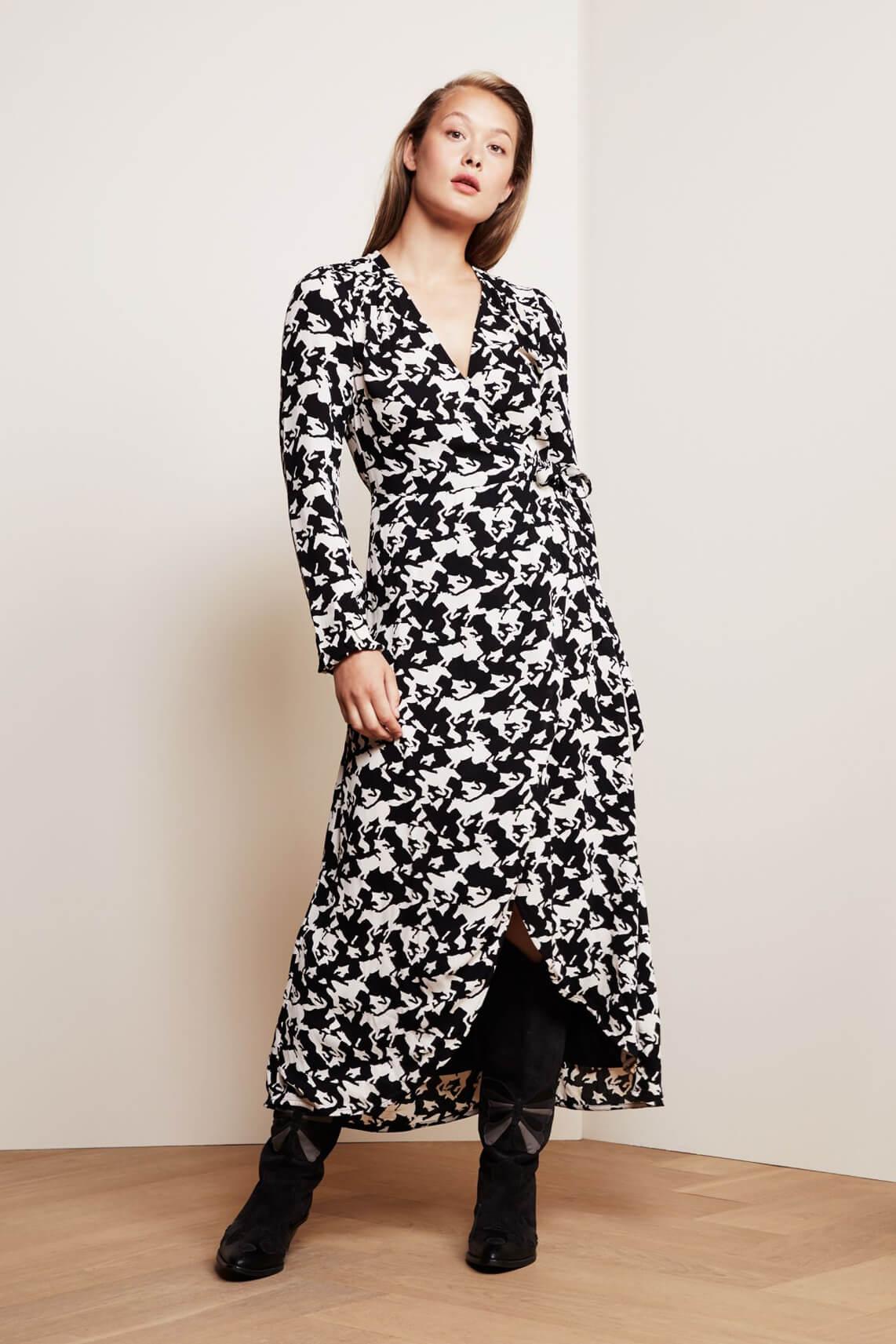 Fabienne Chapot Dames Natasja horse jurk zwart
