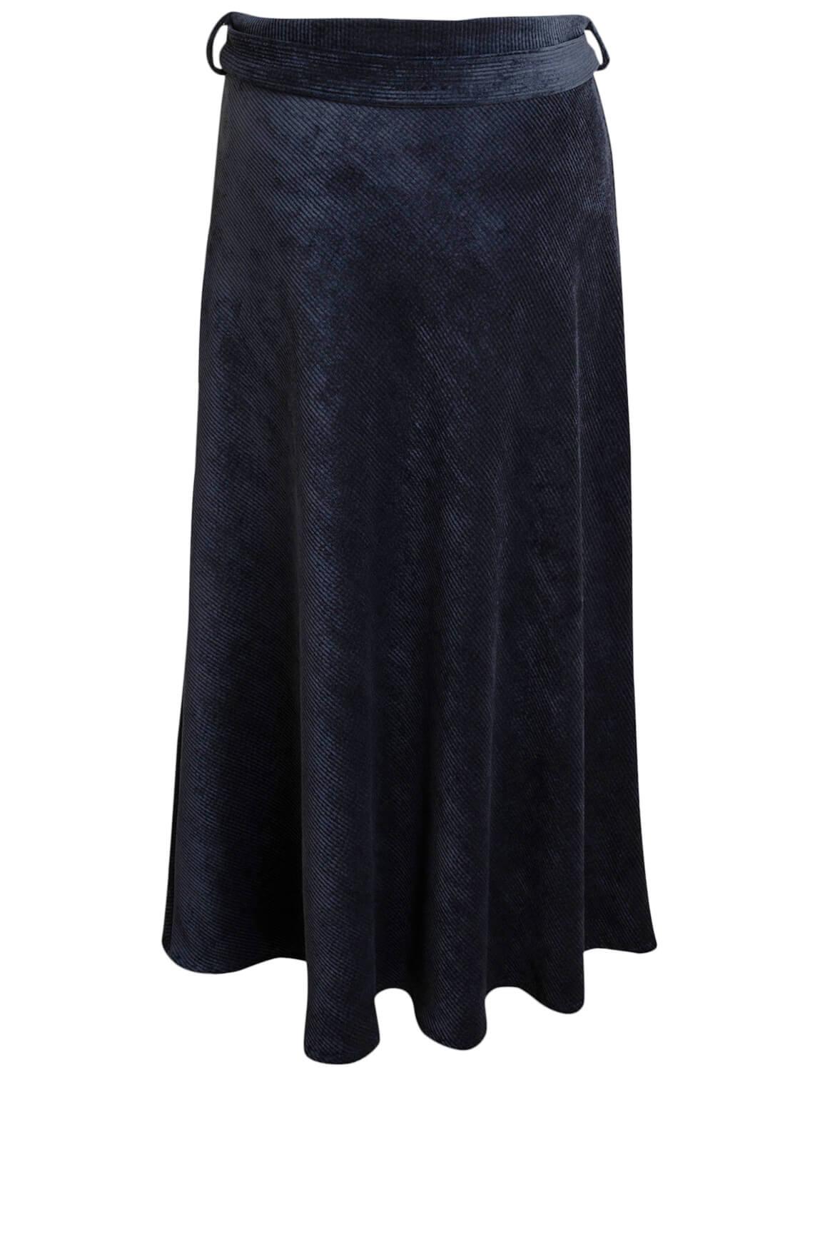 La Fée Maraboutée Dames Rib rok Blauw
