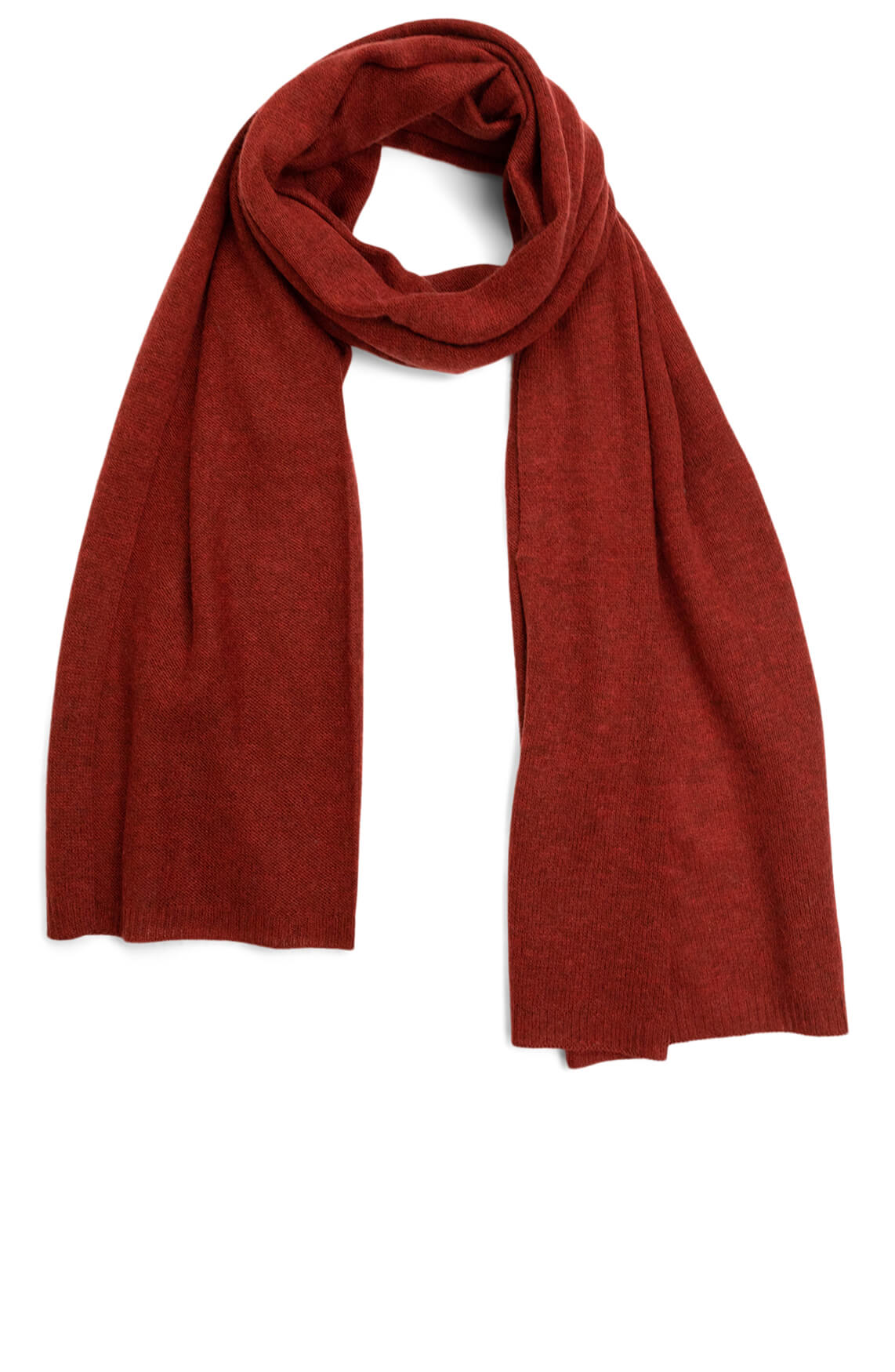 By Happy Sweater Dames Lina shawl Rood