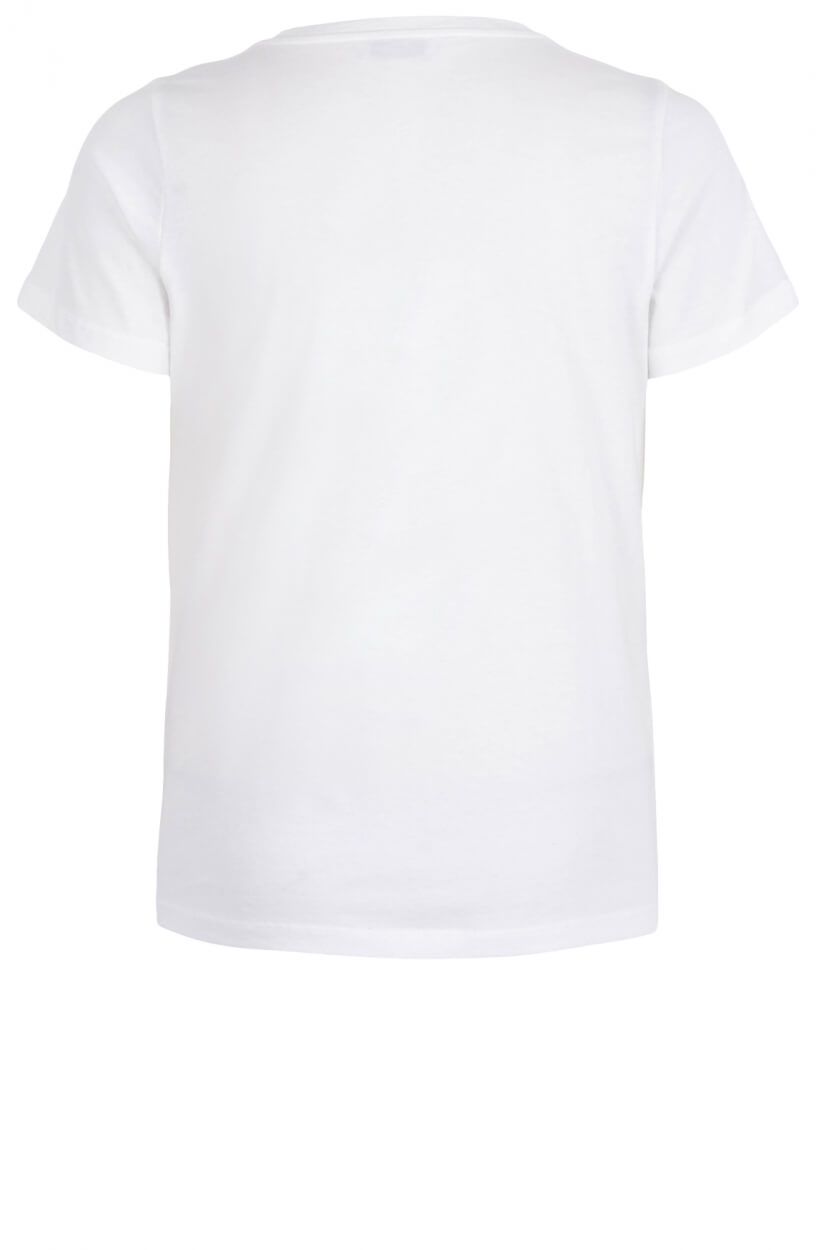 Anna Dames Paradise shirt Wit