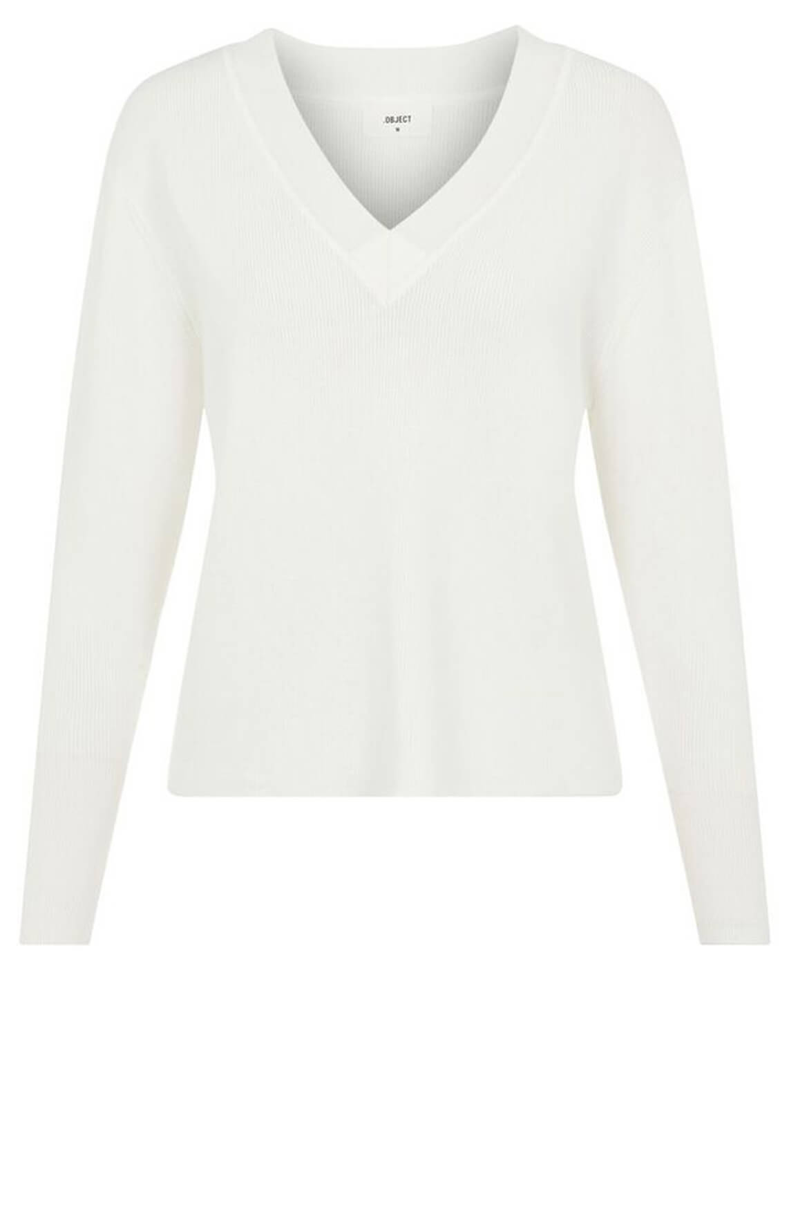 Object Dames Divian pullover Wit