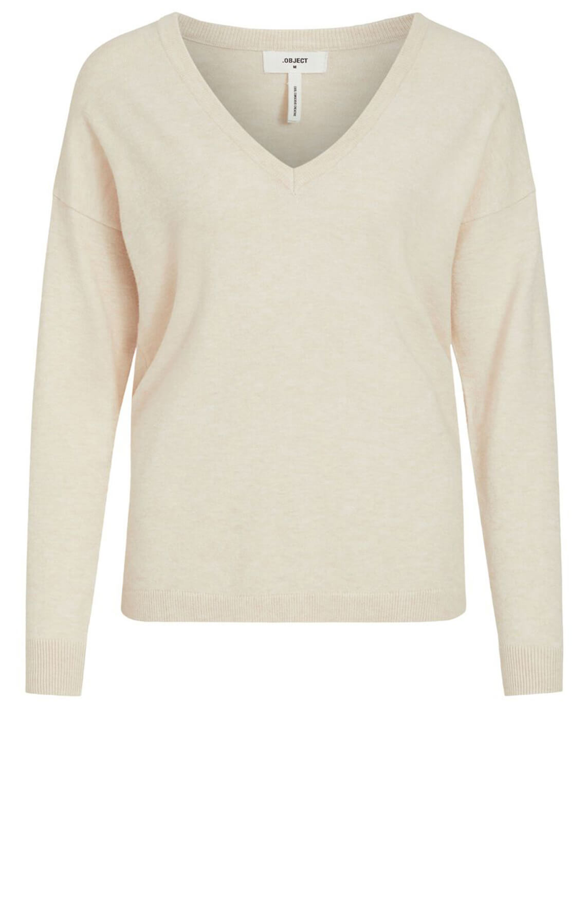 Object Dames Thess pullover Ecru