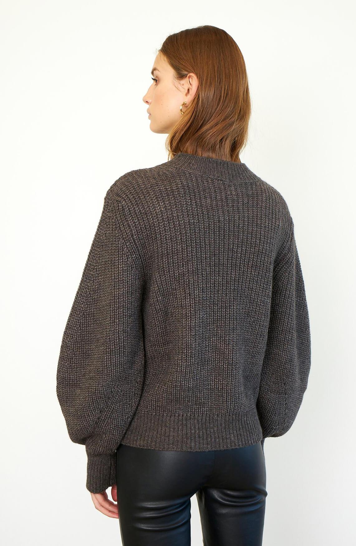 Second Female Dames Pullover Grijs