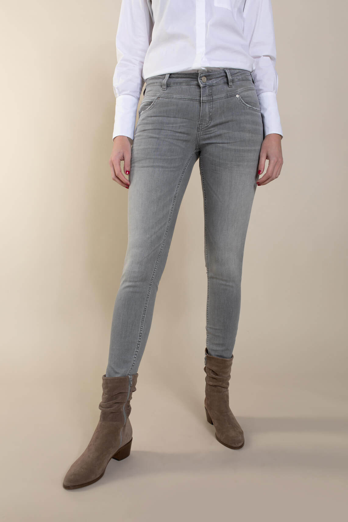 Rosner Dames L30 Antonia jeans Grijs