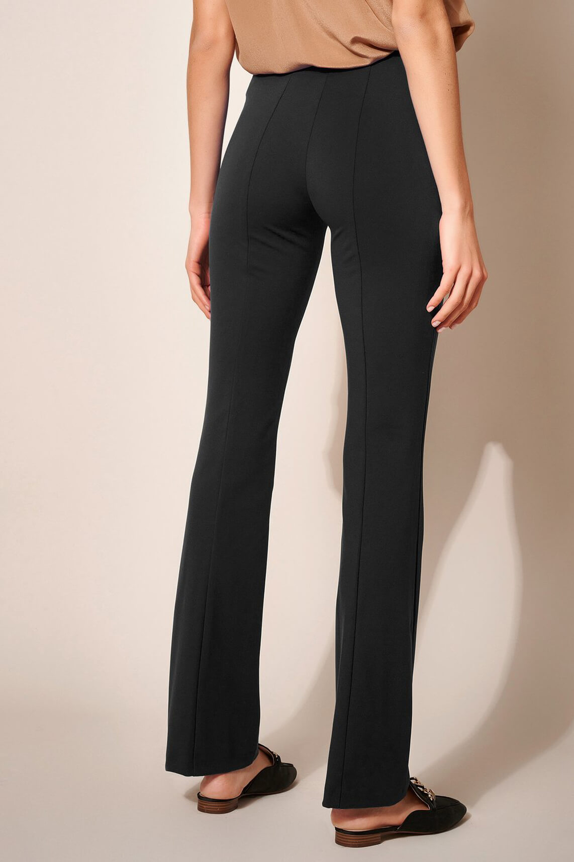Rosner Dames L32 Alisa flared pantalon Zwart