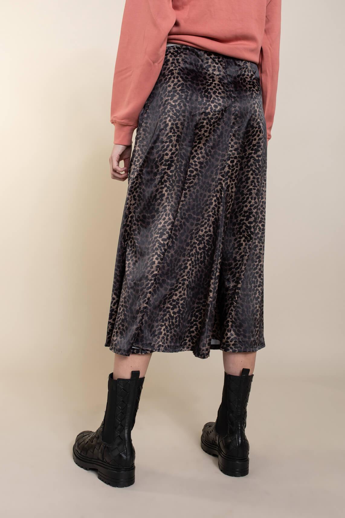 10 Days Dames Leopard rok Bruin