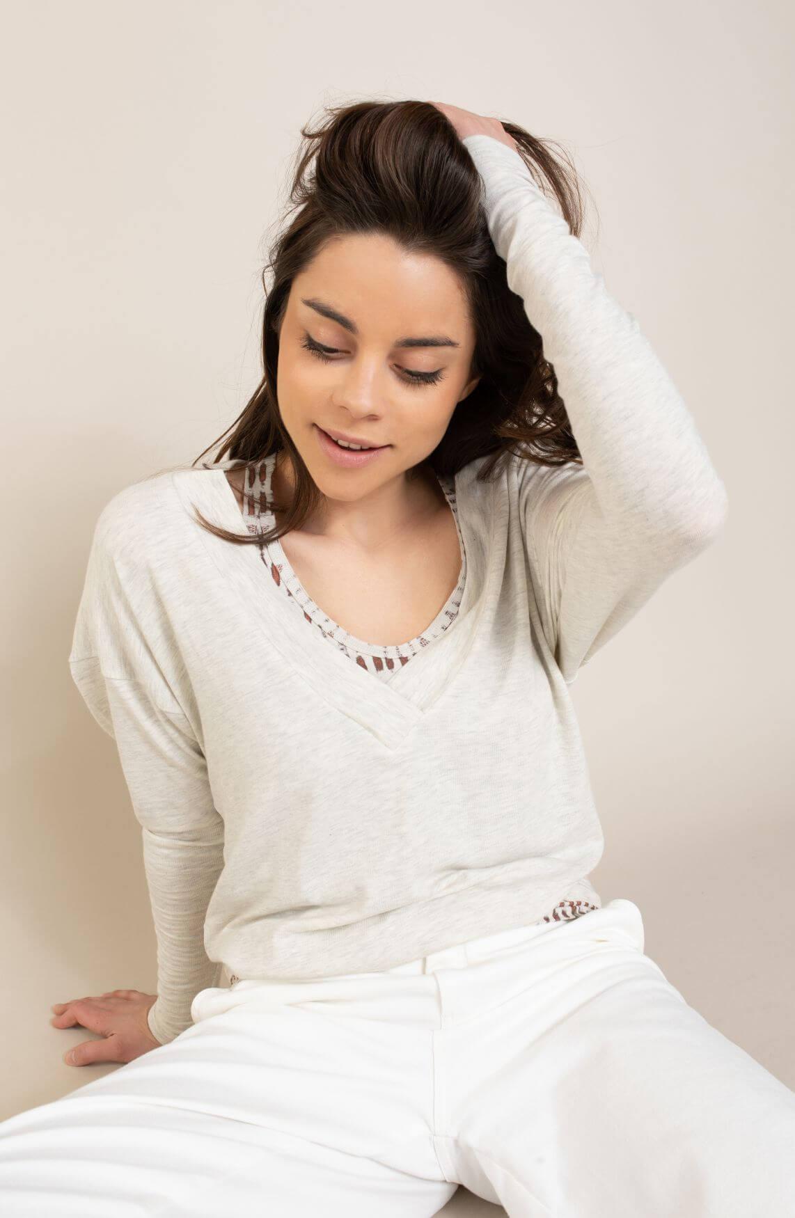 10 Days Dames Soft shirt Wit