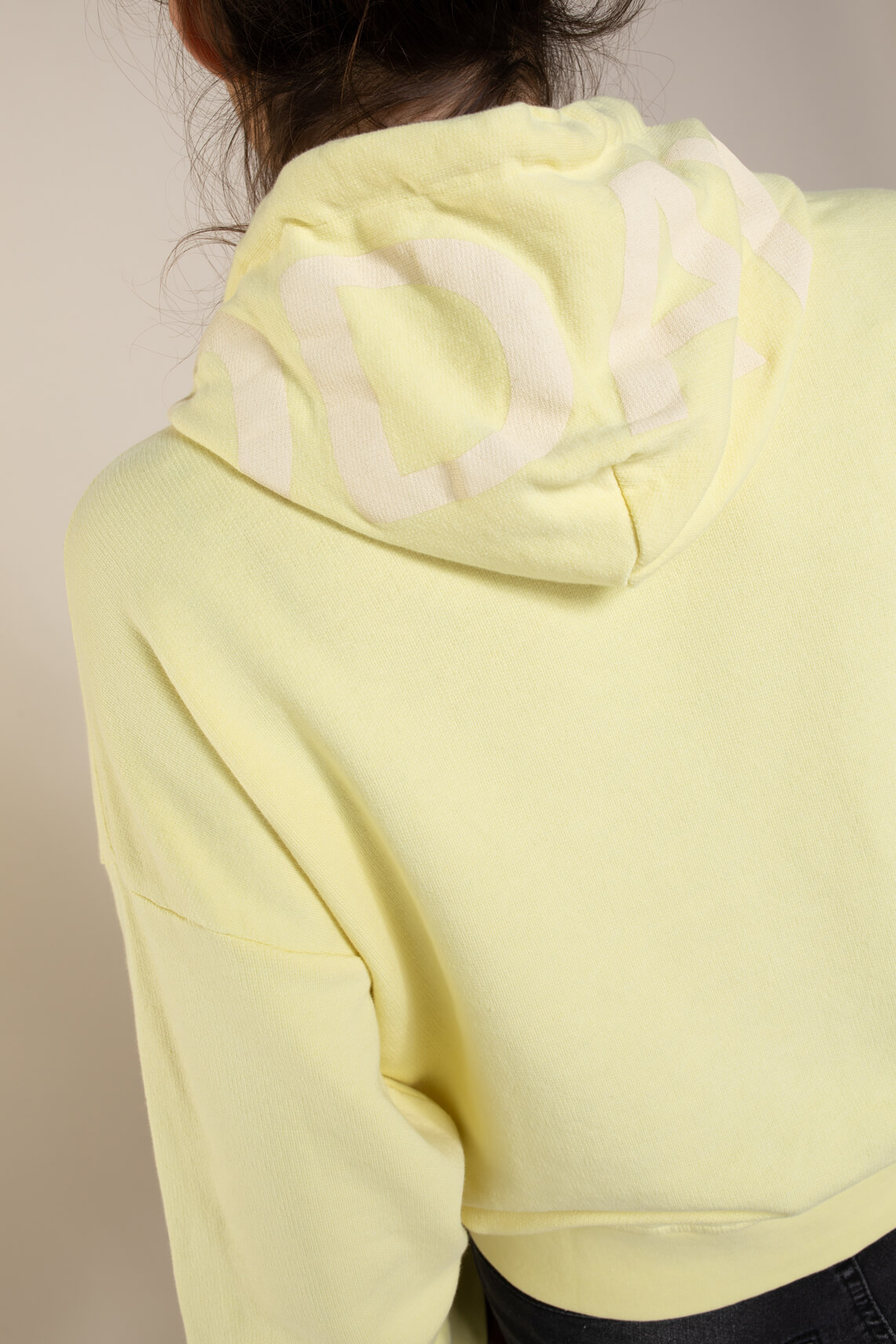 10 Days Dames Oversized hoodie Geel