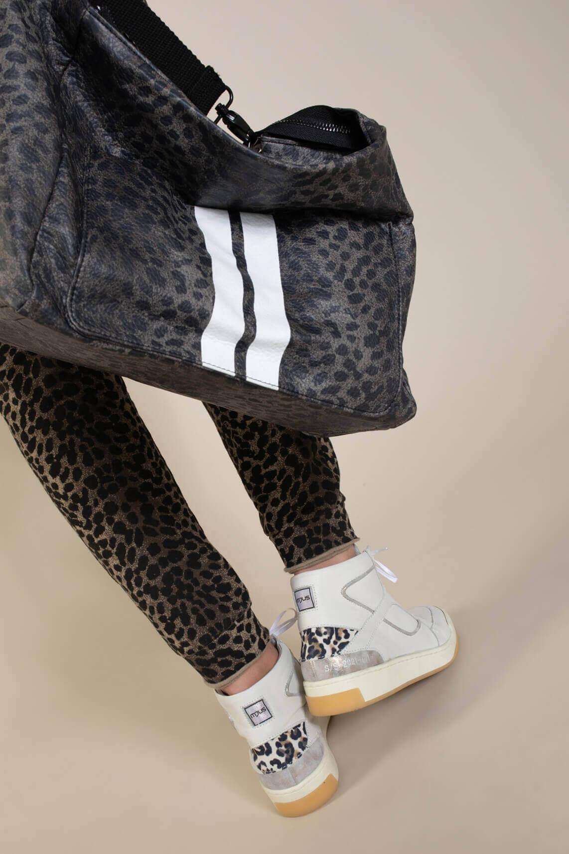 10 Days Dames Leopard bag Bruin