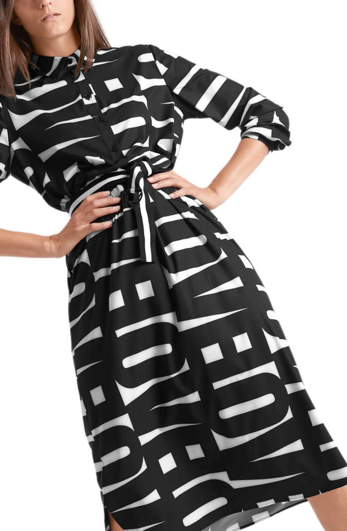 Marccain Sports Dames Love letter jurk Zwart