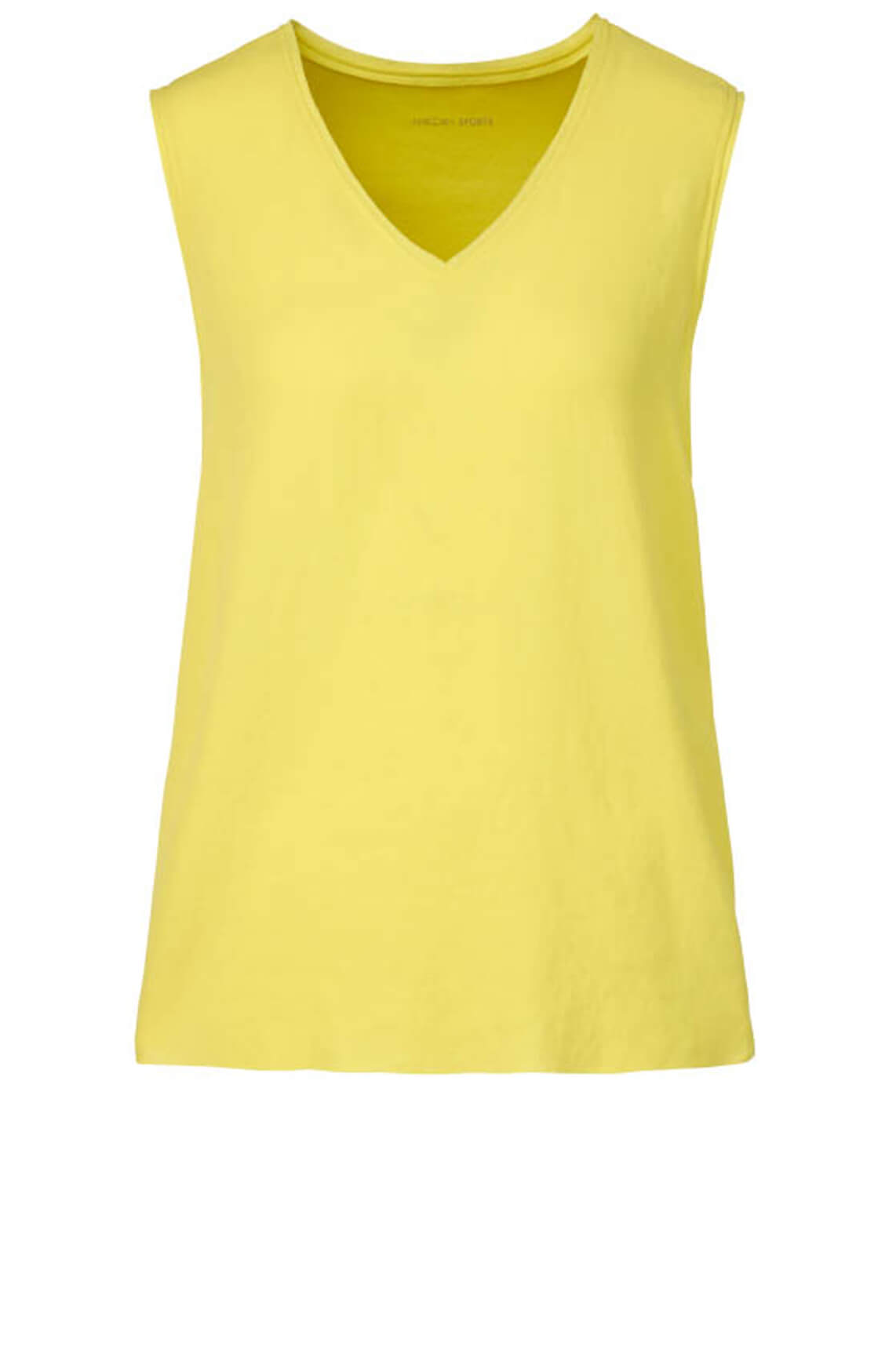 Marccain Sports Dames Materiaalmix top geel
