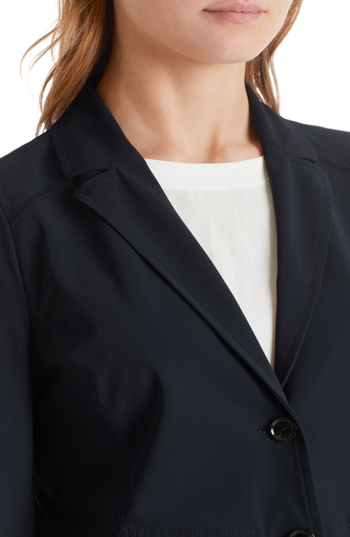 Marccain Sports Dames Blazer van stretch Zwart
