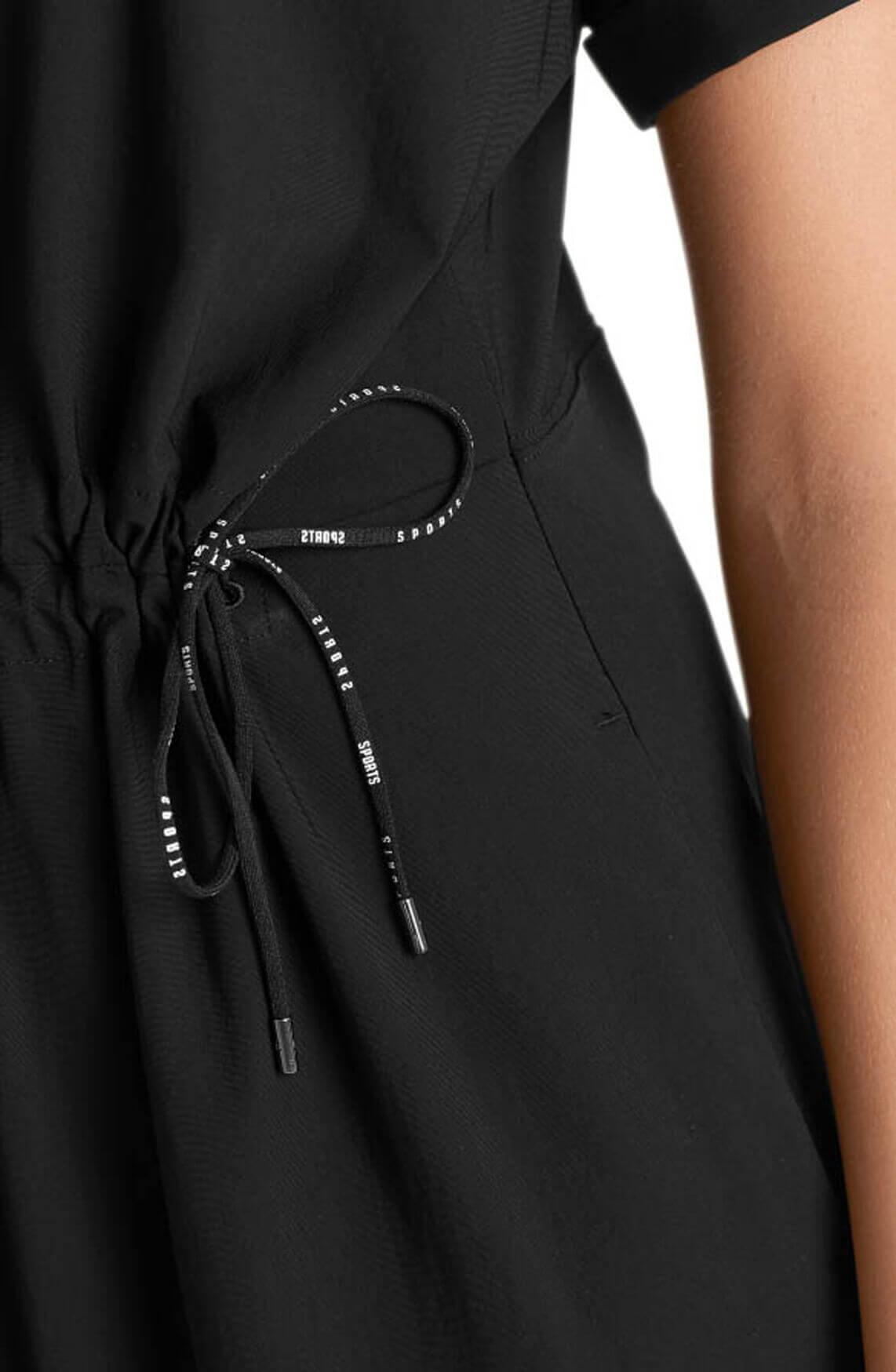 Marccain Sports Dames Jersey jurk zwart