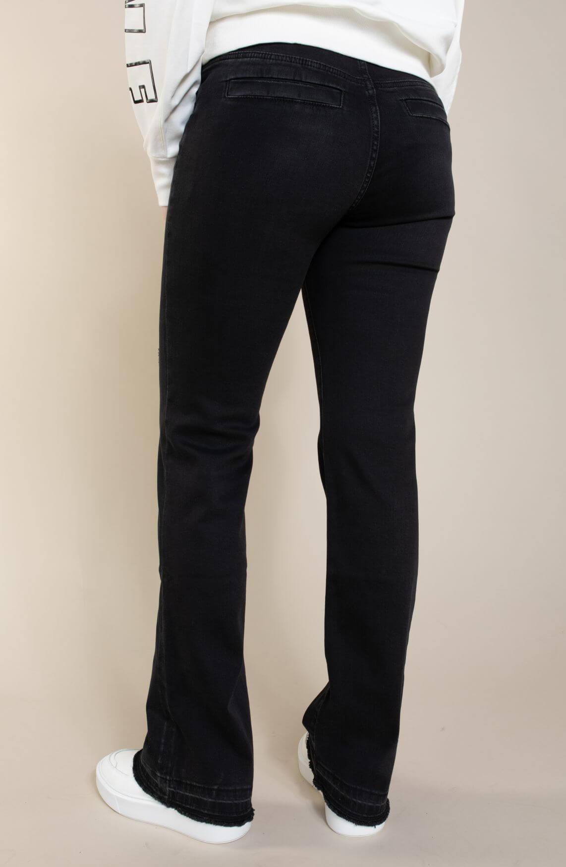 Marccain Sports Dames Bootcut jeans Zwart