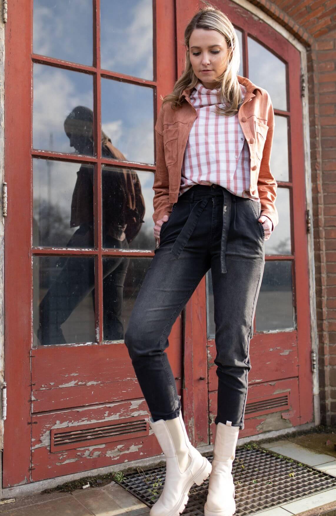Co Couture Dames Denzel Dakota jeans Zwart