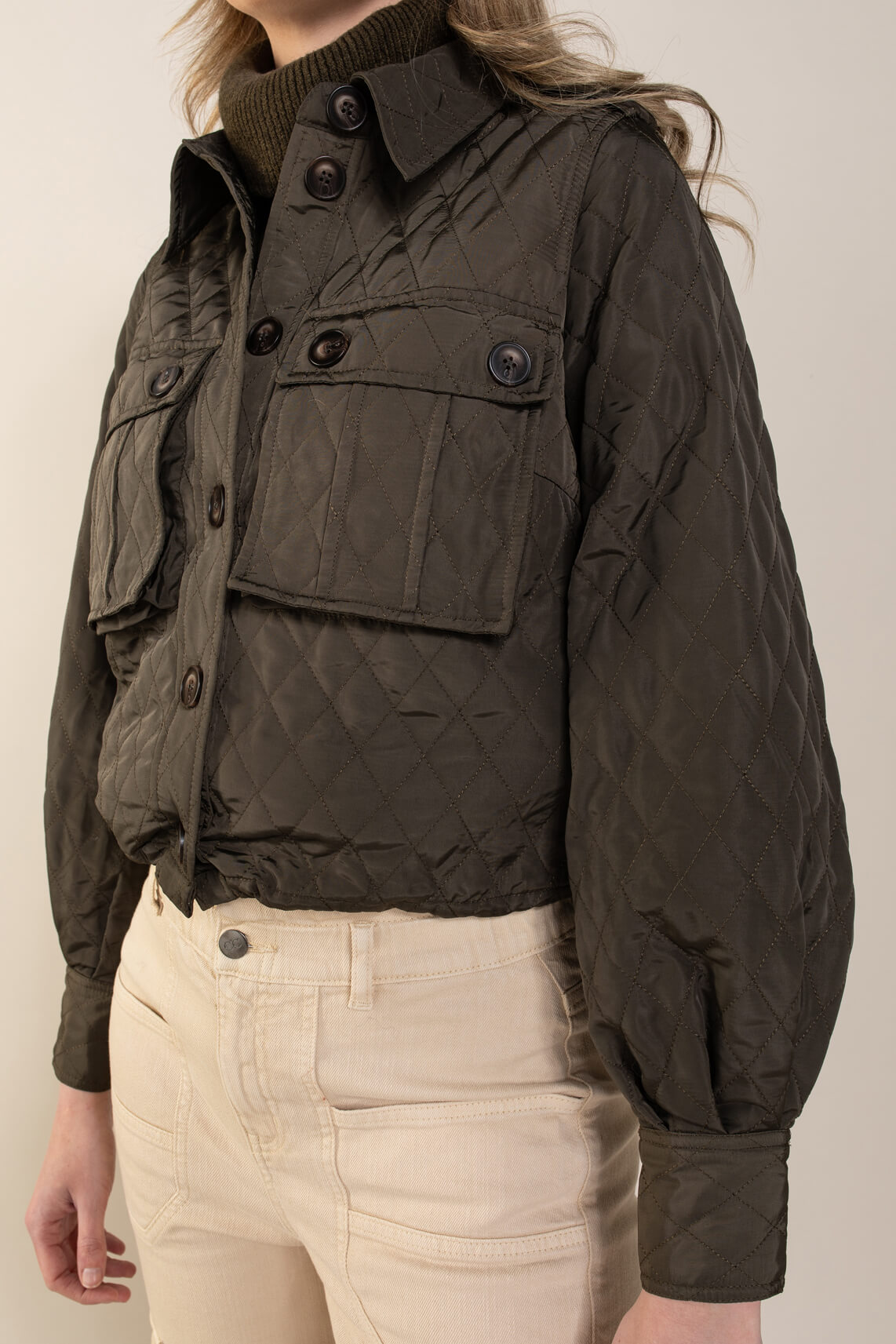 Co Couture Dames Ibbie jacket groen