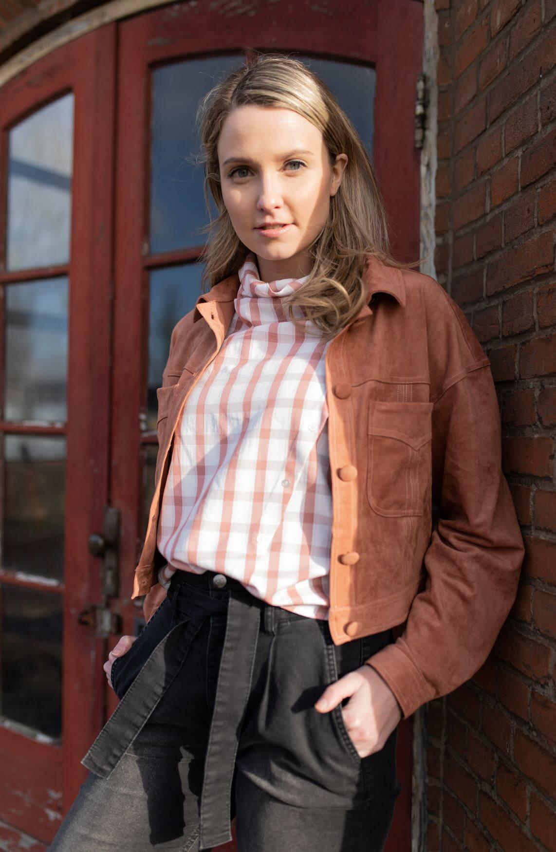 Co Couture Dames Bernard blouse Roze