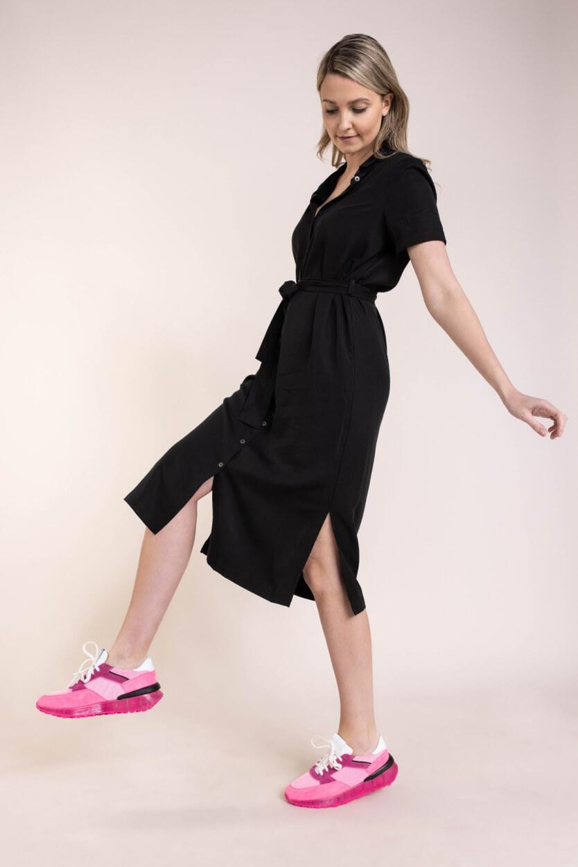 Object Dames Tilda jurk Zwart