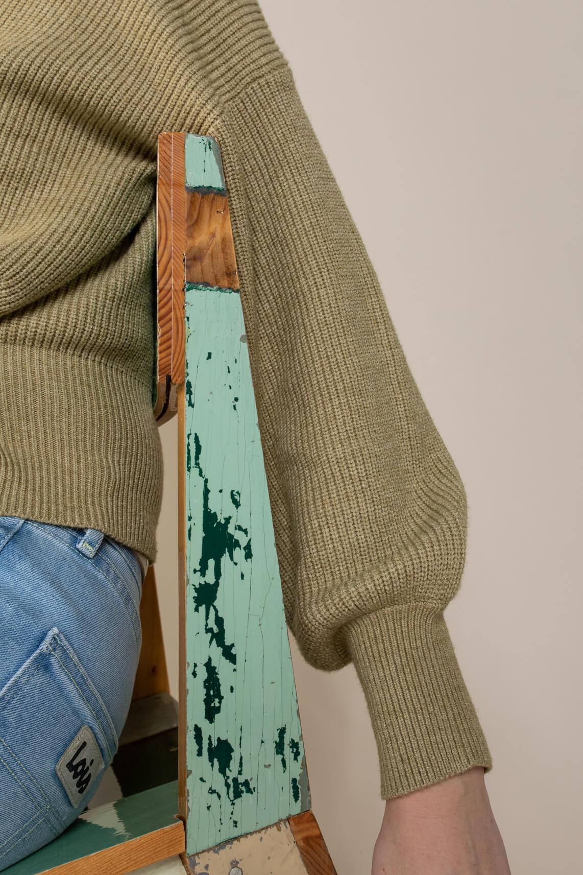 Object Dames Violette vest groen