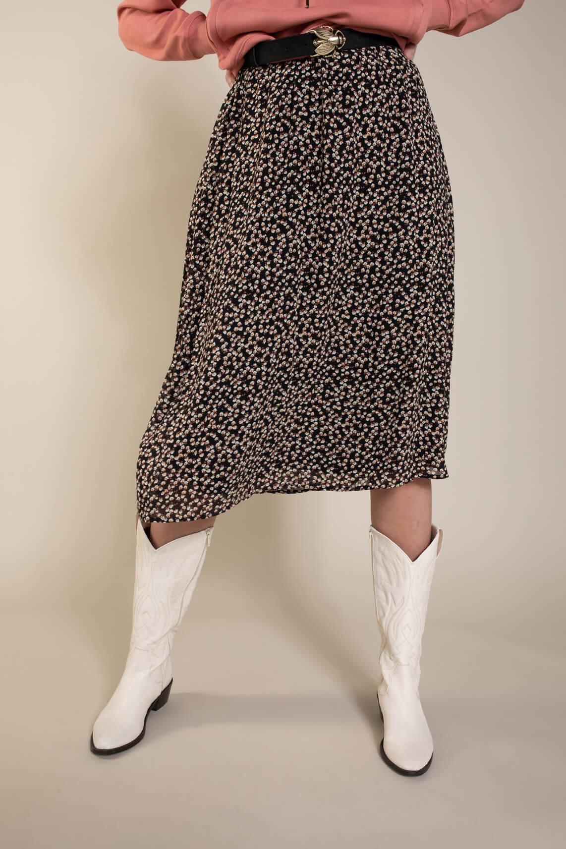 Object Dames Mila rok zwart