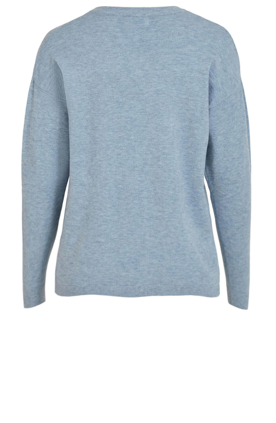 Object Dames Thess pullover Blauw