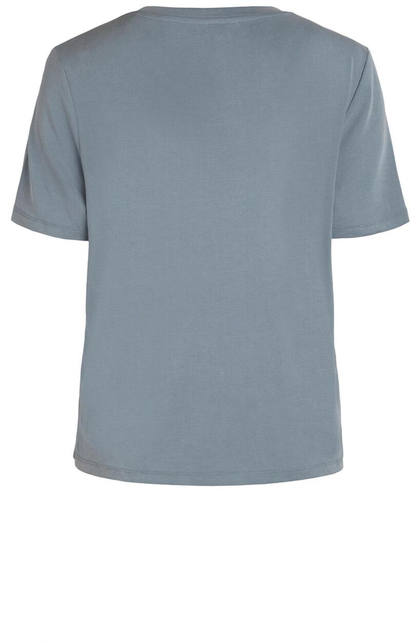 Object Dames Annie shirt Blauw