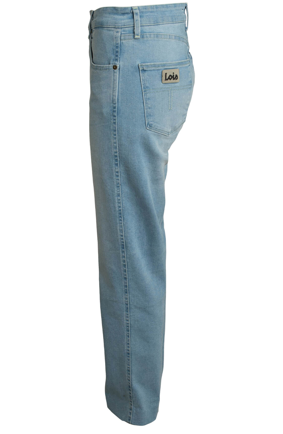 Lois Dames Jeans met hoge taille Blauw