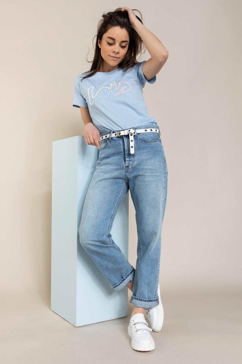 Lois Dames Sofia shirt Blauw